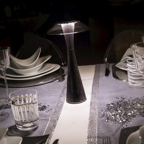 Space Lampada-Kartell-Titanio